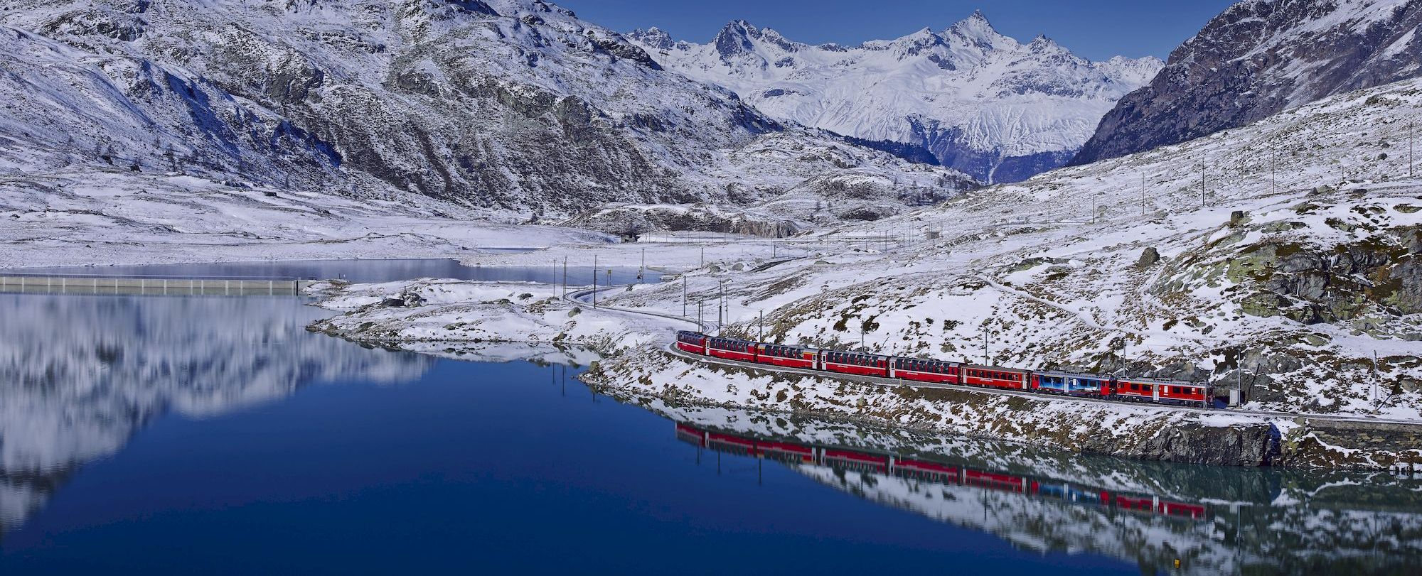 BERNINA - Winterzauber am Berninapass